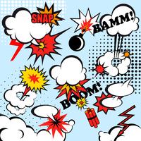 Boom comic snap humor fun template design for superhero book vector illustration 60016004148| 写真素材・ストックフォト・画像・イラスト素材|アマナイメージズ