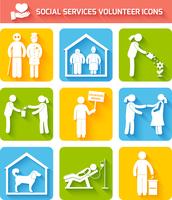 Social foundations donation services and volunteer icons set flat isolated vector illustration 60016004203| 写真素材・ストックフォト・画像・イラスト素材|アマナイメージズ