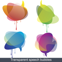 Collection of Colorful Speech And Thought Bubbles Background Vector  60016004637| 写真素材・ストックフォト・画像・イラスト素材|アマナイメージズ