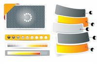 Set of web forms  60016005103| 写真素材・ストックフォト・画像・イラスト素材|アマナイメージズ