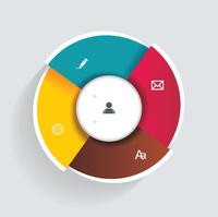 3d design infographics for presentations, seminars, advertising