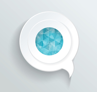 Vector Speech sign banner background communication  60016005592| 写真素材・ストックフォト・画像・イラスト素材|アマナイメージズ
