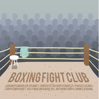 Box fight club background with ring and audience vector illustration 60016006998| 写真素材・ストックフォト・画像・イラスト素材|アマナイメージズ