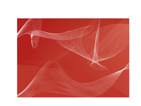 red  abstract lines background  ;  composition of curved lines--great for backgrounds, or layering over other images