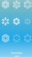 Snowflakes Icon Set 60016007622| 写真素材・ストックフォト・画像・イラスト素材|アマナイメージズ