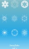 Snowflakes Icon Set 60016007623| 写真素材・ストックフォト・画像・イラスト素材|アマナイメージズ