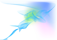 Vector illustration - abstract background made of color splashes and curved lines