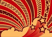 Vector illustration - funky looking graf element.  Pattern background. 60016007699| 写真素材・ストックフォト・画像・イラスト素材|アマナイメージズ