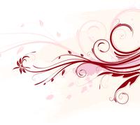 Vector illustration of Grunge Floral Background 60016007784| 写真素材・ストックフォト・画像・イラスト素材|アマナイメージズ