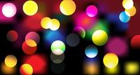 Vector illustration of disco lights dots pattern on black background 60016007876| 写真素材・ストックフォト・画像・イラスト素材|アマナイメージズ