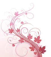 Vector illustration of style Floral Background