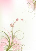 Vector illustration of Grunge Floral Background 60016007902| 写真素材・ストックフォト・画像・イラスト素材|アマナイメージズ