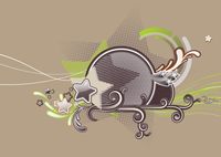 Vector illustration of Candy colorful stars background. 60016008023  写真素材・ストックフォト・画像・イラスト素材 アマナイメージズ
