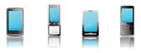 Vector illustration set of elegant black communication device icons 60016008068| 写真素材・ストックフォト・画像・イラスト素材|アマナイメージズ