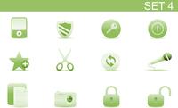 Vector illustration set of elegant simple icons for common computer functions. Set-4 60016008124| 写真素材・ストックフォト・画像・イラスト素材|アマナイメージズ