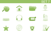 Vector illustration set of elegant simple icons for common computer and media devices functions. Set-7 60016008127| 写真素材・ストックフォト・画像・イラスト素材|アマナイメージズ