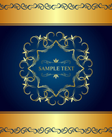 Illustration luxury background for design card - vector 60016008439  写真素材・ストックフォト・画像・イラスト素材 アマナイメージズ