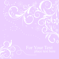 Illustration floral background card for design - vector 60016008479| 写真素材・ストックフォト・画像・イラスト素材|アマナイメージズ