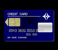 Realistic illustration credit card - vector 60016008700| 写真素材・ストックフォト・画像・イラスト素材|アマナイメージズ