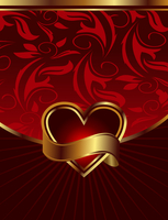 Illustration background for design of packing Saint Valentine's Day - vector 60016008751| 写真素材・ストックフォト・画像・イラスト素材|アマナイメージズ