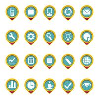 Composed icon set in color 60016008812| 写真素材・ストックフォト・画像・イラスト素材|アマナイメージズ
