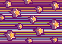 Vector illustration of funky background with cool stars 60016008922| 写真素材・ストックフォト・画像・イラスト素材|アマナイメージズ