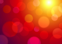 Vector illustration of red abstract glowing background
