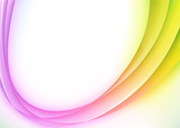 Vector illustration of abstract background with color magic curved line