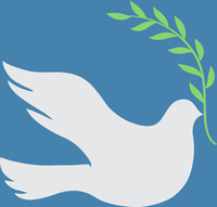 Vector Concept illustration of Beautiful white dove in flight holding an Olive Branch 60016009146| 写真素材・ストックフォト・画像・イラスト素材|アマナイメージズ