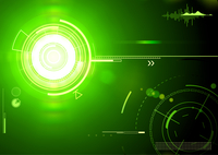 Vector illustration of green abstract techno background 60016009217| 写真素材・ストックフォト・画像・イラスト素材|アマナイメージズ