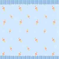 Cartoon vector illustration of  retro funky background with cool ice cream 60016009354| 写真素材・ストックフォト・画像・イラスト素材|アマナイメージズ