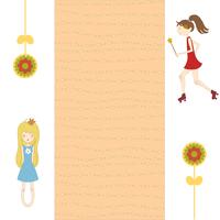 Vector Illustration of retro design greeting card 60016009398| 写真素材・ストックフォト・画像・イラスト素材|アマナイメージズ