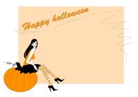 Vector Illustration of  funky invitation to halloween party 60016009518| 写真素材・ストックフォト・画像・イラスト素材|アマナイメージズ