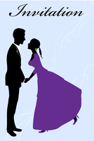Vector illustration of funky invitation with cool young sexy couple 60016009534| 写真素材・ストックフォト・画像・イラスト素材|アマナイメージズ