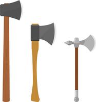 Set of vector illustrations of axes 60016009729| 写真素材・ストックフォト・画像・イラスト素材|アマナイメージズ
