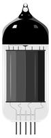 Vector illustration of an old vacuum tube. EPS10 60016009736| 写真素材・ストックフォト・画像・イラスト素材|アマナイメージズ