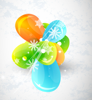 Vector Christmas background 60016009833| 写真素材・ストックフォト・画像・イラスト素材|アマナイメージズ