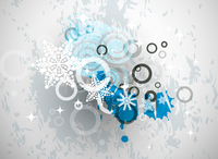 Vector Christmas background 60016009885| 写真素材・ストックフォト・画像・イラスト素材|アマナイメージズ