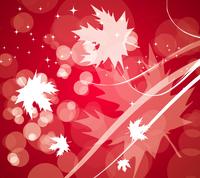Vector autumn leaves background 60016010740| 写真素材・ストックフォト・画像・イラスト素材|アマナイメージズ