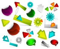 Collection of vector design elements 60016010877| 写真素材・ストックフォト・画像・イラスト素材|アマナイメージズ
