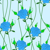 Seamless  background with flower roses. Could be used as seamless wallpaper, textile, wrapping paper or background 60016011095| 写真素材・ストックフォト・画像・イラスト素材|アマナイメージズ