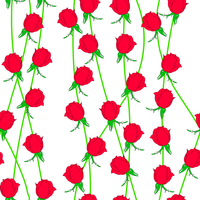 Seamless  background with flower roses. Could be used as seamless wallpaper, textile, wrapping paper or background 60016011096| 写真素材・ストックフォト・画像・イラスト素材|アマナイメージズ