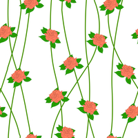 Seamless  background with flower roses. Could be used as seamless wallpaper, textile, wrapping paper or background 60016011116| 写真素材・ストックフォト・画像・イラスト素材|アマナイメージズ