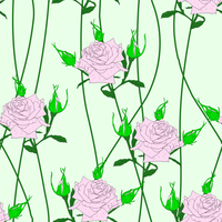 Seamless  background with flower roses. Could be used as seamless wallpaper, textile, wrapping paper or background 60016011117| 写真素材・ストックフォト・画像・イラスト素材|アマナイメージズ
