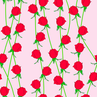 Seamless  background with flower roses. Could be used as seamless wallpaper, textile, wrapping paper or background 60016011118| 写真素材・ストックフォト・画像・イラスト素材|アマナイメージズ