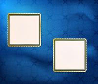 blank frames for photo on the retro background 60016012390| 写真素材・ストックフォト・画像・イラスト素材|アマナイメージズ