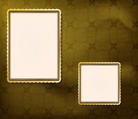 blank frames for photo on the retro background 60016012391| 写真素材・ストックフォト・画像・イラスト素材|アマナイメージズ