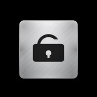 Vector mobile app icon / button