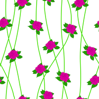 Seamless  background with flower roses. Could be used as seamless wallpaper, textile, wrapping paper or background 60016012945| 写真素材・ストックフォト・画像・イラスト素材|アマナイメージズ