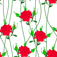 Seamless  background with flower roses. Could be used as seamless wallpaper, textile, wrapping paper or background 60016012947| 写真素材・ストックフォト・画像・イラスト素材|アマナイメージズ